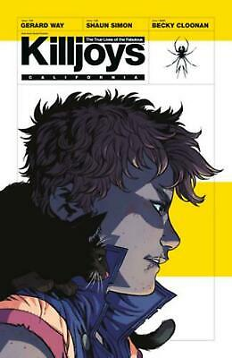 The True Lives of the Fabulous Killjoys by Gerard Way Paperback Book (English)