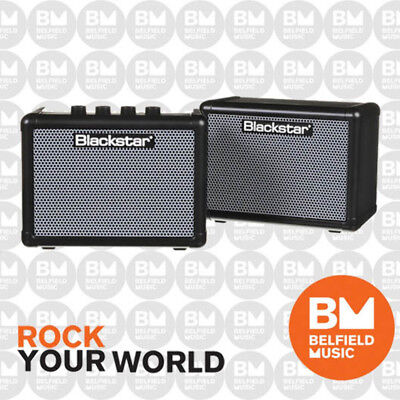 Blackstar Fly Bass Pack 3w 2-Ch Portable Mini Guitar Amp + Fly 103 Extension