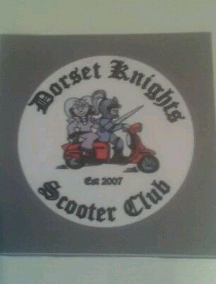 scooter rally patches mod scooter club