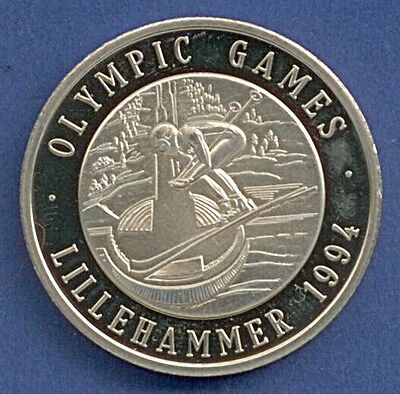 Medaille Winterolympiade Olympic Games Lillehammer 1994 Ski Ø 40 mm A12/149