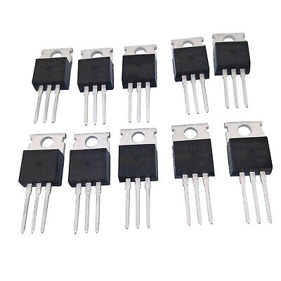 10 pcs MOSFET Transistor IR TO-220 IRF1404 IRF1404PBF New