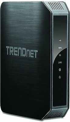 TRENDnet TEW-813DRU AC1200 Wireless Dual Band Gigabit Cable Router 4-Port UK