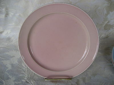 """Fantastic Luray Sharon Pink 10"""" Dinner Plate made in 1952"""