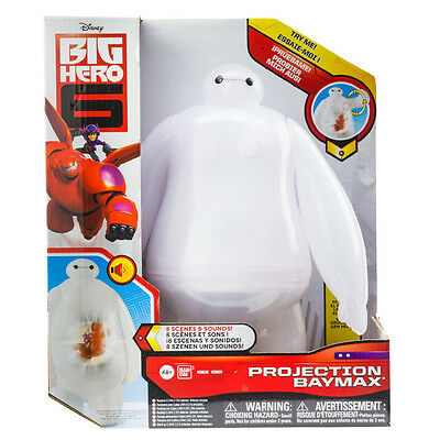 Big Hero 6 Projection Baymax Large 25Cm Figure With Sound Disney Toy