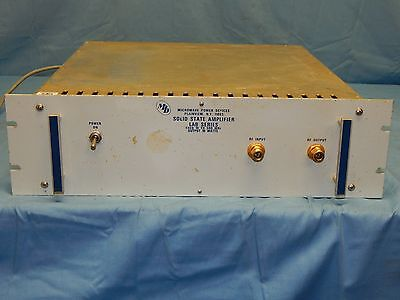 MPD Microwave Power Devices Lab1-055-10F 10Mhz-500Mhz 40Watt RF Amplifier TESTED