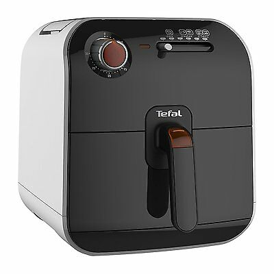 NEW Tefal FX1000 Fry Delight Hot Air Health Fryer 1400W 0.8kg - Black & White