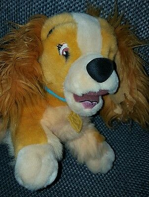 Disney Lady and The Tramp - Lady Large Beanie Soft Toy