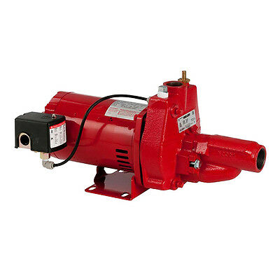 Red Lion RJC-100 1HP Cast Iron Convertible Jet Pump with Injector Kit | 602038