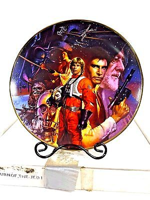 VTG Star Wars Trilogy - A New Hope ANH  - Hamilton Collection PLATE by MORGAN