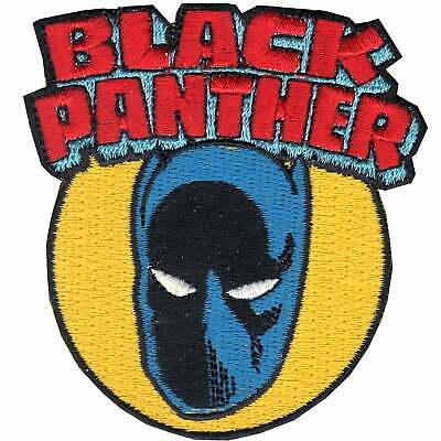 Official Marvel Comics Avenger  'Black Panther' Hero Iron on Applique Patch