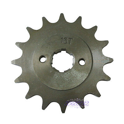 16Tooth 20Mm Front Engine Sprocket For Pit Bike And Mini Atv