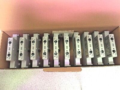 Allen-Bradley 100-Sb10M Ser.b 1N.o. Auxiliary Contact Lot Of 10 New Quantity!!