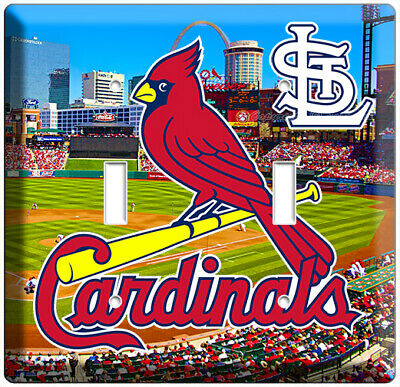 Variations Available St Louis Cardinals Light Switch Wall Plate Cover #2