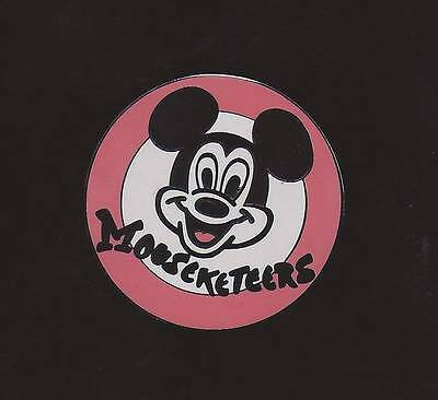 Disney DLR WDW Mouseketeers Logo Mickey Mouse Face Pin aaa