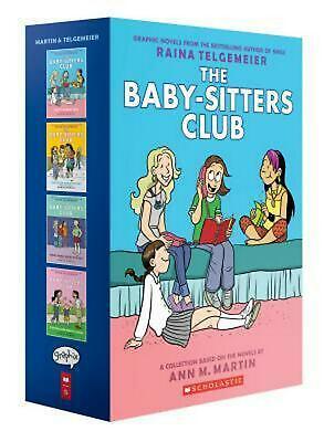 Baby-Sitters Club Graphix #1-4 Box Set: Full-Color Edition by Ann M. Martin (Eng