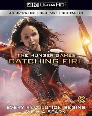 The Hunger Games: Catching Fire [New 4K UHD Blu-ray] With Blu-Ray, 4K Masterin