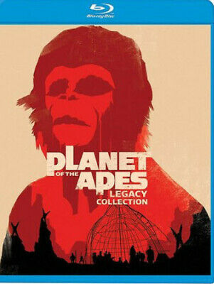 Planet of the Apes Legacy Collection [New Blu-ray] Repackaged