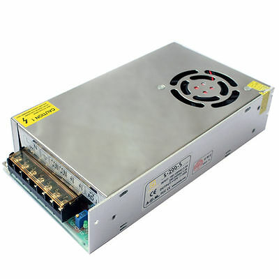 DC 5V 40A 200W AC To DC Regulated variable  Switching Power Supply Adjustable