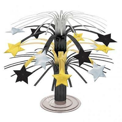 MINI CASCADE CENTREPIECE Black Gold Star Party Mini Decoration Good Quality