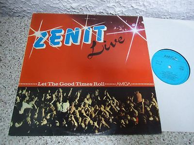 Lp Amiga Zenit - Live Let The Good Times Roll 1988