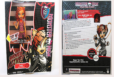 Monster High Ghouls Alive Toralei Doll