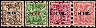 Niue 1931 set of 4 SG51-54 Ave Mtd Mint