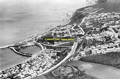 rp14078 - Aerial view of Cullen , Banffshire , Scotland - photo 6x4