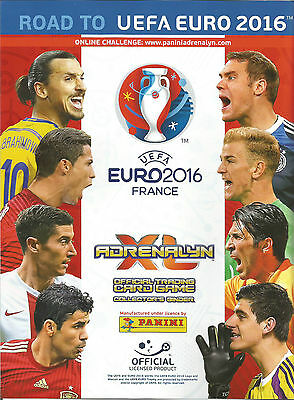 Adrenalyn Xl Road To Euro 2016 Line Ups Part 1 Pick What You Need