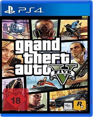 GTA 5 V Grand Theft Auto 5 V - PS4 Playstation 4 Spiel - NEU OVP