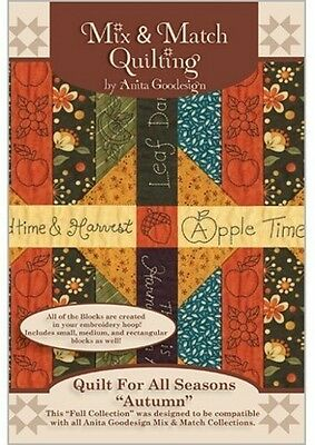 Quilt for All Seasons Autumn Anita Goodesign Embroidery Cd