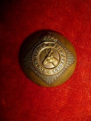 "The South African Infantry Brass Button, 1"" Dia. - Gaunt Maker"