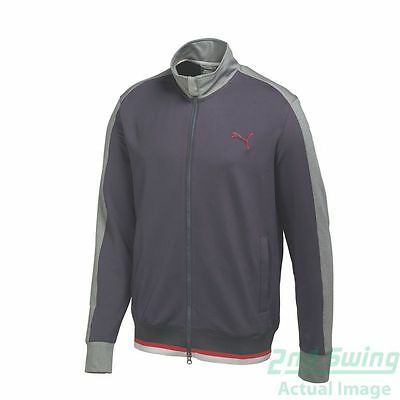 New Mens Puma Track Style FZ Warm Cell Golf Jacket MD Periscope 569102 MSRP $90