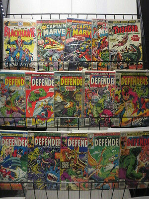 BRONZE AGE HIGH GRADE COLLECTION Lot of 103 DIFFERENT MARVEL DC COMICS F-VF/+
