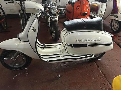 Lambretta GP200. choice of 35 classic scooters