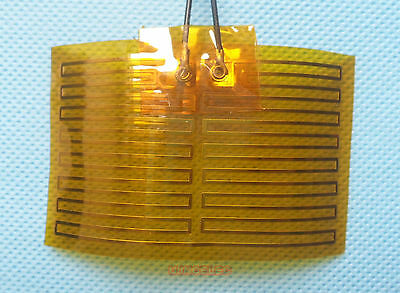 Kapton Flexible Heater 80x50mm 12V 14.4Watts x1pcs