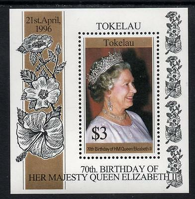Tokelau MNH 1996 The 70th Anniversary of the Birth of Queen Elizabeth II