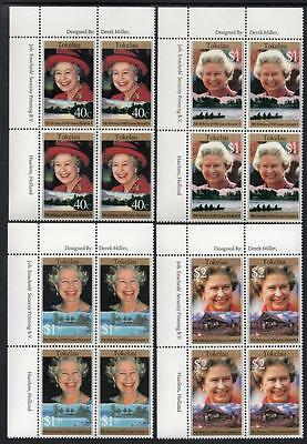 Tokelau MNH 1996 The 70th Anniversary of the Birth of Queen Elizabeth II Blocks