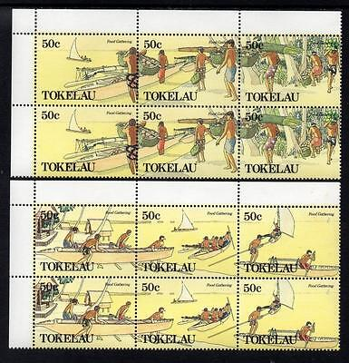 Tokelau MNH 1989 Food Gathering Blocks