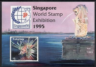 "Tokelau MNH 1995 International Stamp Exhibition ""Singapore '95"""
