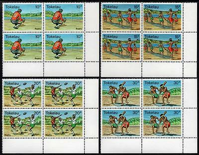 Tokelau MNH 1979 Local Sport Blocks