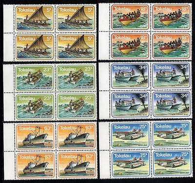 Tokelau MNH 1983 Transportation Blocks