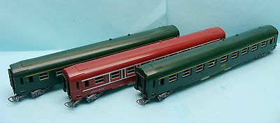 17256 Jouef / France / 3 Wagons Voyageurs Sncf Iuc Ho 1/87