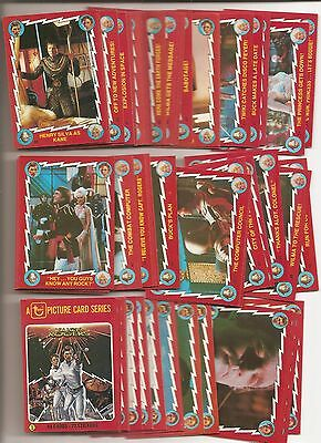 1979 Topps Buck Rogers Complete Trading Card Set (88)