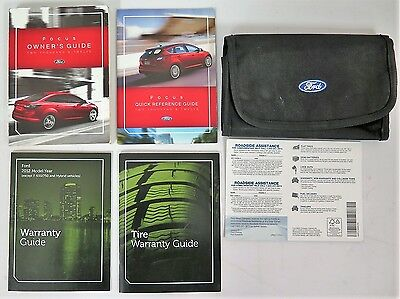 2012 Ford Focus Owners Manual Guide Book