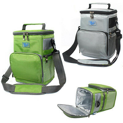 AU Portable Large Capacity Outdoor Fully Insulated Picnic Lunch Food Cooler Bag