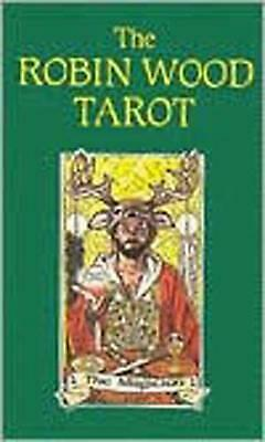 The Robin Wood Tarot by Robin Wood (English) Cards Book Free Shipping!
