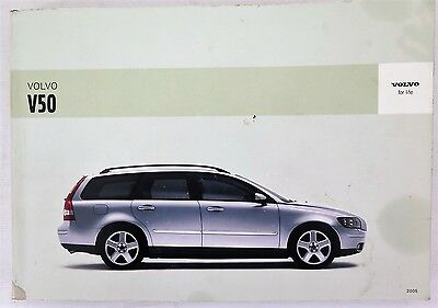 2005 Volvo V50 Owners Manual Guide Book