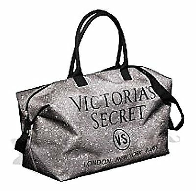 Victoria's Secret Bling Popup Weekender Tote Bag, Holiday 2015 Limited Edition