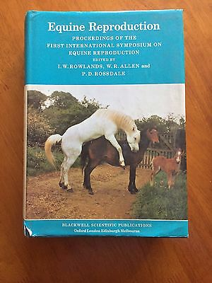 Equine Reproduction edited by Rowlands Allan and Rossdale