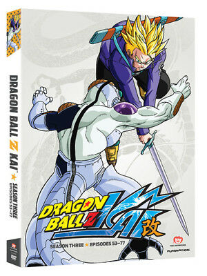 Dragon Ball Z Kai: Season 3 [New DVD] Boxed Set